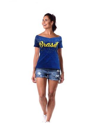 Camisa Brasil Braziline Juruena