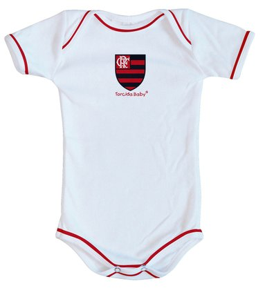 Body Flamengo Torcida Baby