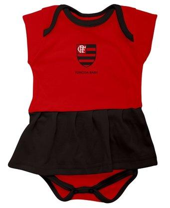 Vestido Body Flamengo Torcida Baby