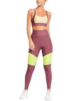Calça Legging LIVE! Square Block Color