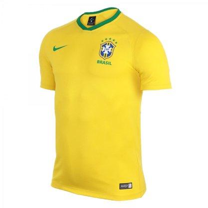Camisa Brasil Nike Cbf Brt Ft