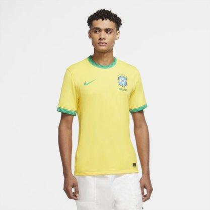 Camisa Brasil Nike I 2020/21 Torcedor