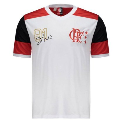 Camisa Braziline Flamengo Zico Retro