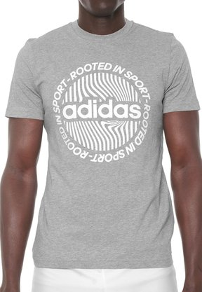 Camiseta Adidas Circled Graphic