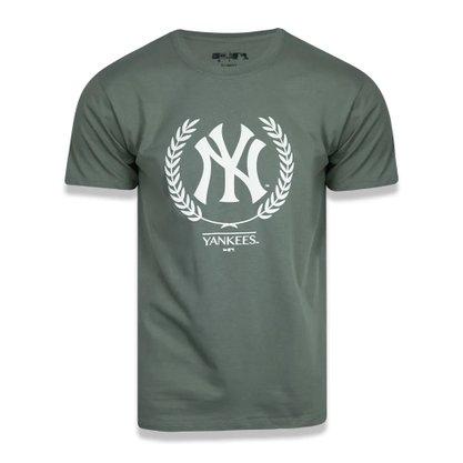 Camiseta New Era Slim MLB NY Yankees Summer Time Crown