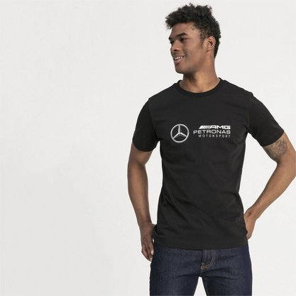 Camiseta Puma Mercedes Amg Petronas Logo Tee