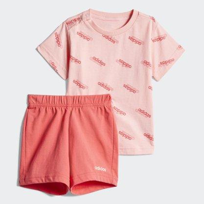 Conjunto Adidas Favorites Ss Set Infantil