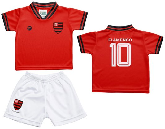 Conjunto Flamengo Torcida Baby