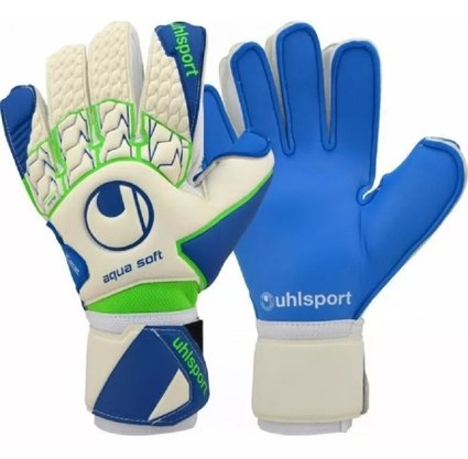Luva Goleiro Uhlsport Aquasoft