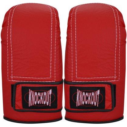 Luva Knockout Bate Saco Com Velcro
