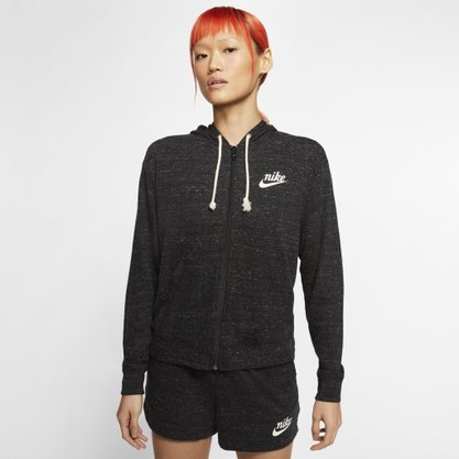 Moletom Nike Gym Vntg Hoodie Fz