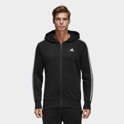 Moletom Adidas Ess 3s Fz Hood