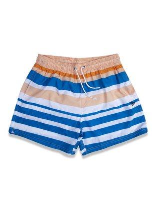 Shorts Praia New Era Listrado