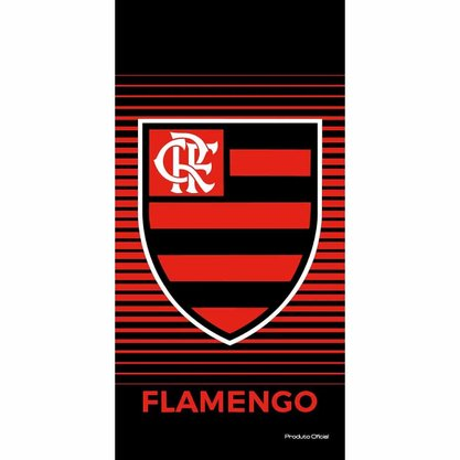 Toalha de Banho Aveludada Buettner Flamengo